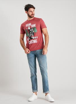 Christmas BSA Red Santa T-Shirt