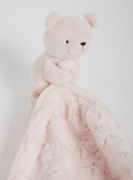 Pink Bear Comforter - One Size