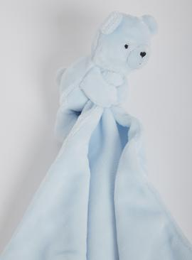 Blue Bear Comforter - One Size