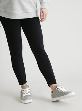Maternity Black Corduroy Leggings