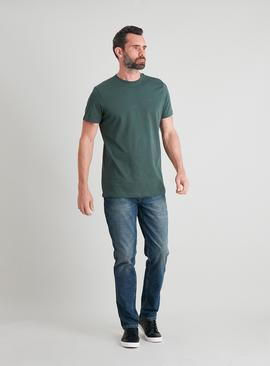 Green Tall Fit Crew Neck T-Shirt