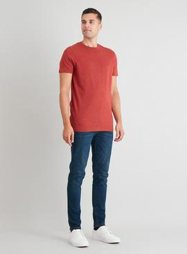 Marl Crew Neck Tall Fit T-Shirt