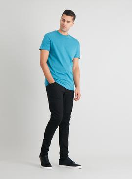 Blue Crew Neck Tall Fit T-Shirt