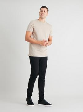 Stone Cotton Slub Tall Fit T-Shirt