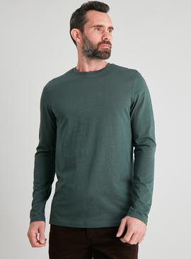 Green Tall Fit Long Sleeved Top