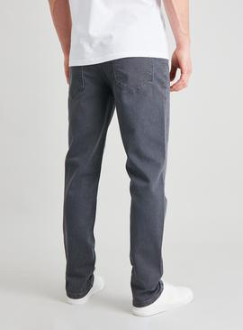 Grey Slim Fit Ultimate Comfort Jeans With Stretch