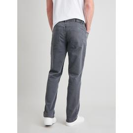 Grey Denim Straight Fit Ultimate Comfort Jeans