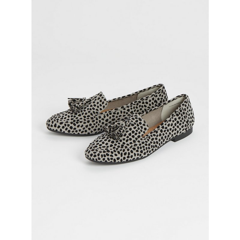 Sole Comfort Animal Print Slipper Cut Loafer from Argos