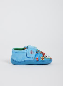 Paw Patrol Blue Slippers