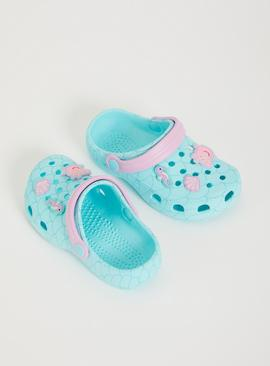 Peppa Pig Blue Clogs