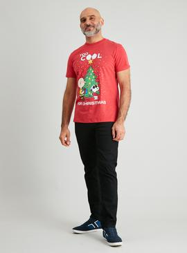 Christmas Snoopy Red T-Shirt