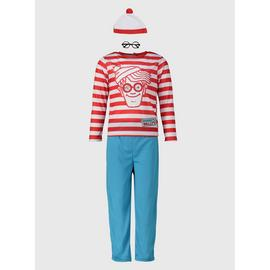 Where's Wally Red & Blue Costume