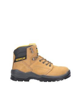 CATERPILLAR Tan Striver Lace Up Injected Safety Boot