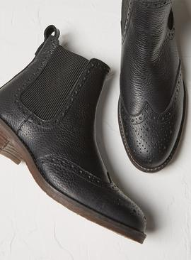 FATFACE Leather Chelsea Boots