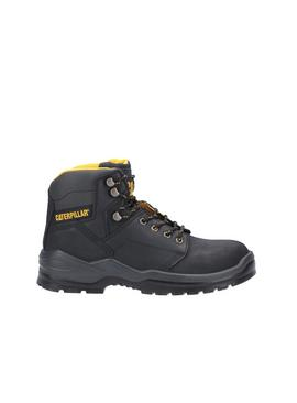 CATERPILLAR Black Striver Lace Up Injected Safety Boot