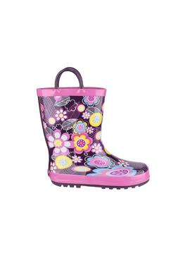 Flower Print Puddle Wellies
