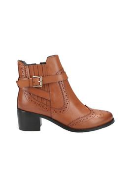 Tan Rayleigh Ankle Boots