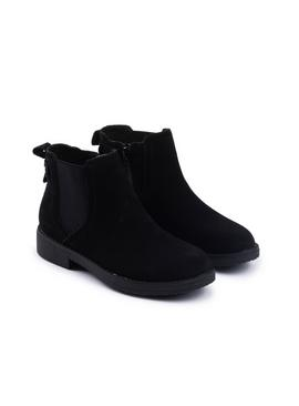 Black Maddy Ankle Boots