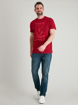 Liverpool FC Red Short Sleeved T-Shirt
