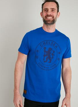 Chelsea FC Blue Short Sleeved T-Shirt