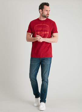 Arsenal FC Red Short Sleeved T-Shirt