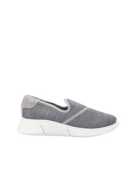Grey Makenna Slip On Shoes