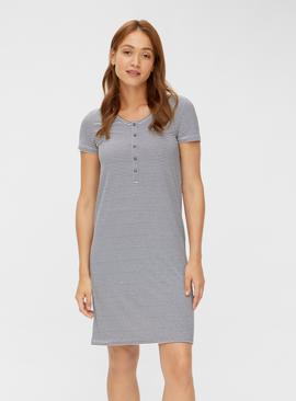 Stripe Jersey Nightdress