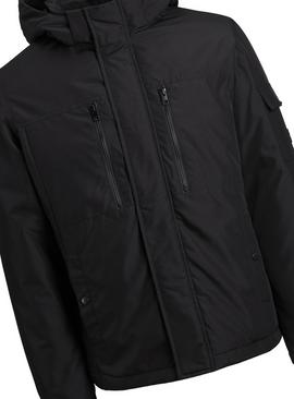 JACK & JONES Junior Black Parka