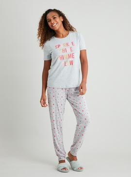 Grey 'Sparkle Shine' Pyjamas