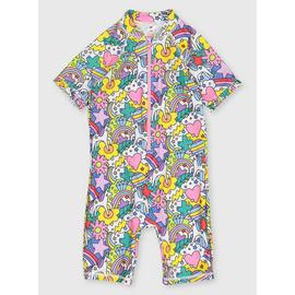 Rainbow Unicorn Sunsuit