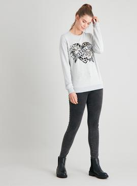 Grey 'Rock 'N' Roll' Sweatshirt