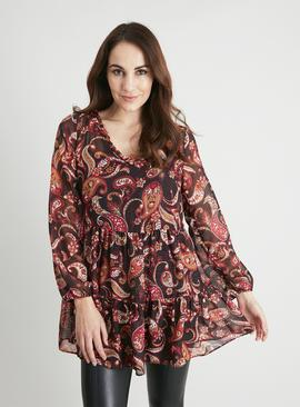 Paisley Tiered Tunic
