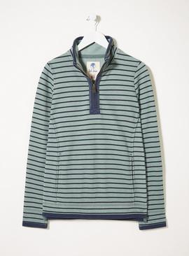 FATFACE Peppermint Airlie Breton Multi Stripe Sweat