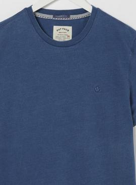 FATFACE Blue Crew Neck T-Shirt