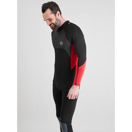 Black & Red Long Sleeve Wetsuit
