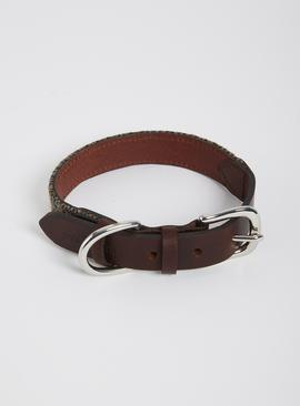 Brown Dog Collar - One Size