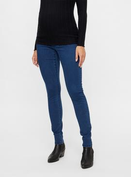 Denim Maternity Jeggings
