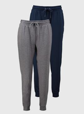 Navy & Grey Joggers 2 Pack