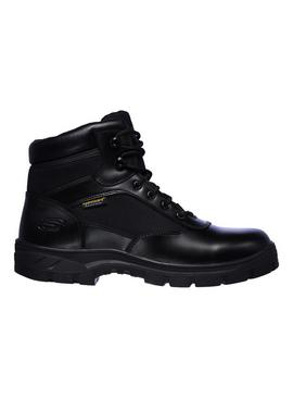 SKECHERS Black Wascana Benen Waterproof Tactical Boot