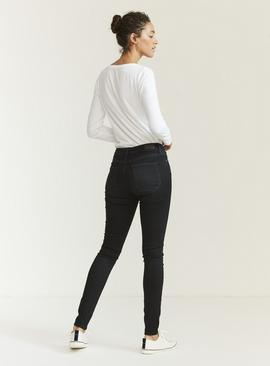 FATFACE Black Harlow Super Skinny Jeans