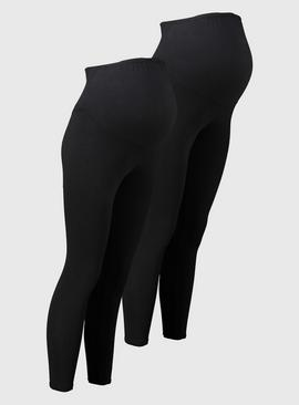 MATERNITY Black Leggings 2 Pack
