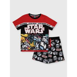 Star Wars Red Shortie Pyjamas