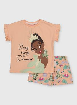 Disney Princess Tiana Shortie Pyjamas