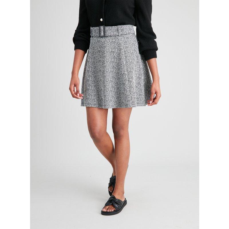 Paisley Ponte Flippy Skirt from Argos