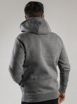 CATERPILLAR Grey Trademark Hoodie