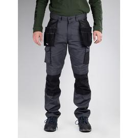 CATERPILLAR Grey Knee Pocket Work Trousers