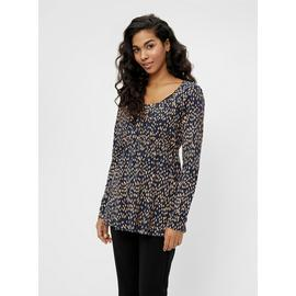 Printed Jersey Maternity Top