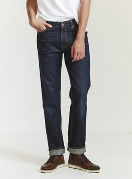 FATFACE Dark Vintage Wash Straight Jeans