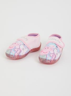 Peppa Pig Pink Slippers