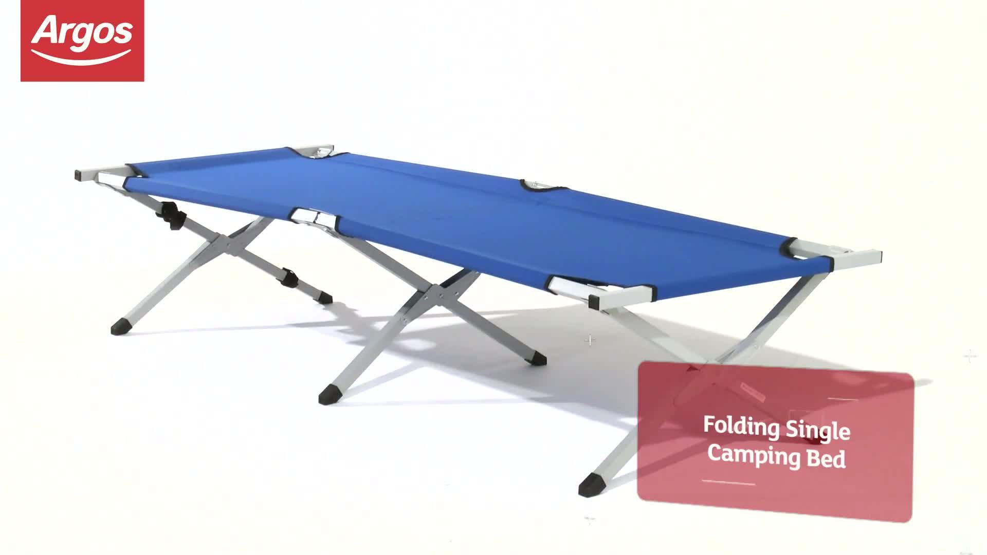 - Buy ProAction 6 Leg Folding Camping Bed - Single Camping Beds